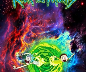 wallpaper and rick and morty image
