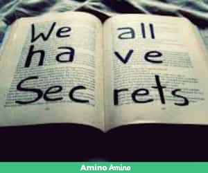 secret and book image