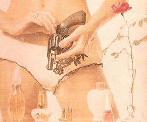 boudoir, painting, and panties image