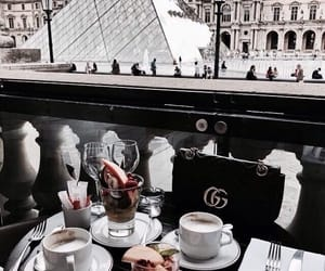food, paris, and coffee image