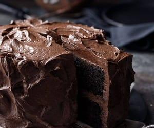 cake, yumy, and chocolate image