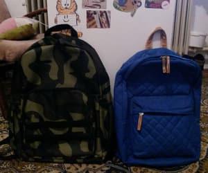bag, blue, and mine image