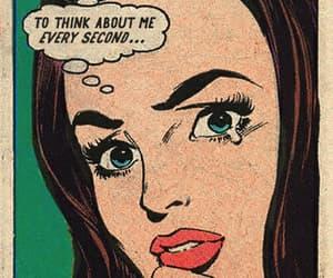 comic, girl, and pop art image