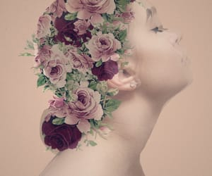 beauty, flowers, and pastel image