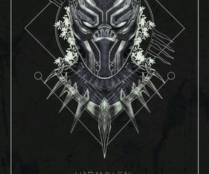 black panther and wallpaper image