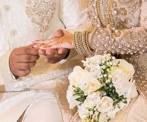 bride, groom, and pakistani image