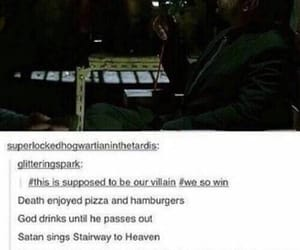 supernatural, crowley, and fandom image