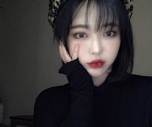 asian girl, girl, and korean girl image