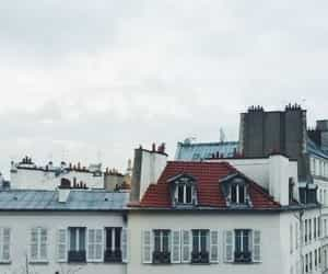 amour, city, and cloudy image
