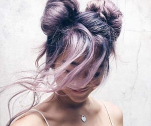 aesthetic, happy, and updo image