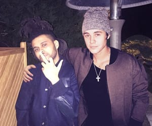 justin bieber, the weeknd, and abel image