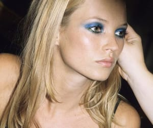 90s, blue, and kate moss image