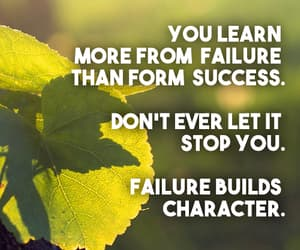 failure, inspirational, and learn image