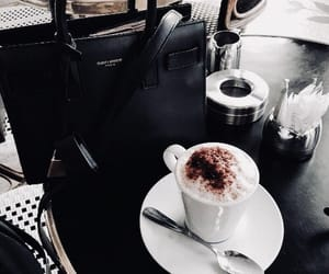 coffee, food, and black image