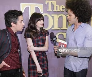 m ward, zooey deschanel, and she & him image