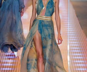 Versace, dress, and model image