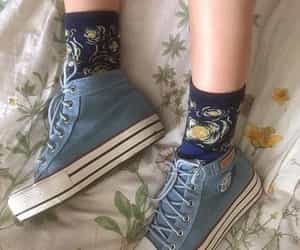 socks, shoes, and aesthetic image