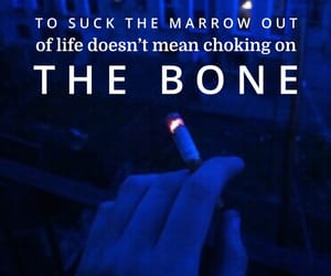 cigarette, easel, and quote image