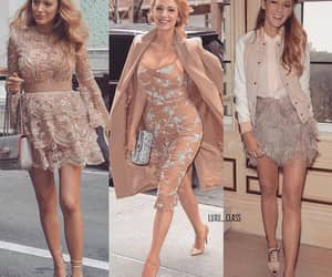 beige, blonde, and blake lively image