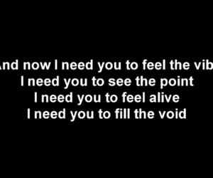best song ever, Lyrics, and void image