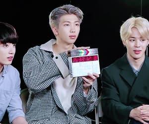 gif, jeon jeongguk, and kim namjoon image