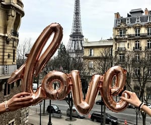paris, love, and travel image