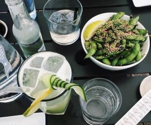 food, drink, and green image
