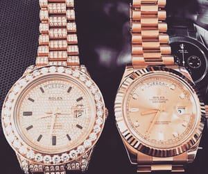luxury, watch, and rolex image