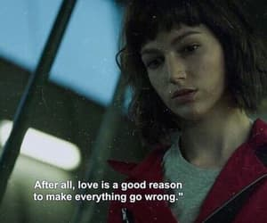 love, la casa de papel, and grunge image
