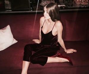 dress, fashio, and heels image