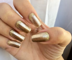 glitter, gold, and golden image