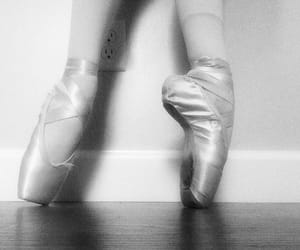 b&w, ballet, and dance image