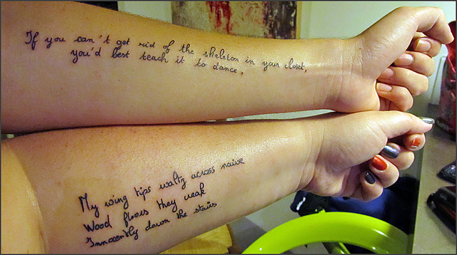 40 Awesome Tattoo Quotes We Styles On We Heart It