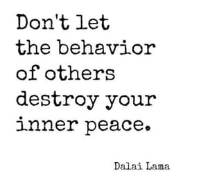 quotes, peace, and dalai lama image