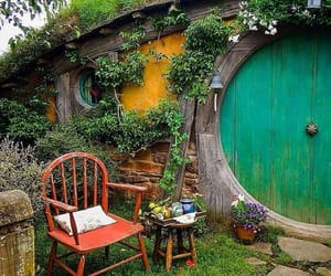 armchair, the hobbit, and the shire image