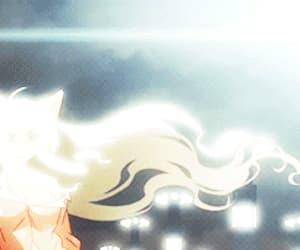 anime, gif, and tsubasa hanekawa image