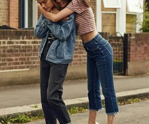 friends, goals, and jeans image