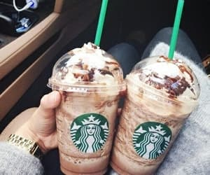 cafe, delicia, and starbucks image