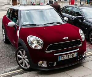 car, mini cooper, and london image