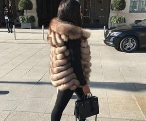 bag, fashion, and fur image