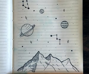 doodles, journal, and minimalistic image