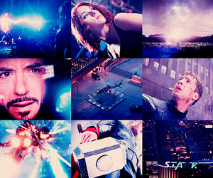 blue, photoset, and the avengers image
