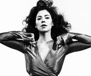album, black and white, and marina and the diamonds image