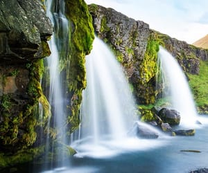 amazing, beauty, and waterfalls image