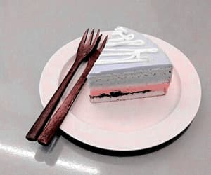 aesthetic, cake, and blue image