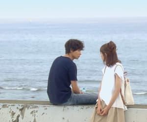seaside, yamazaki kento, and mirei kiritani image