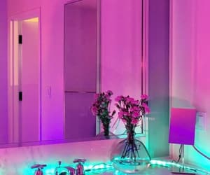 neon, aesthetic, and pink image