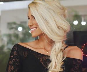 blond, girl, and trança image