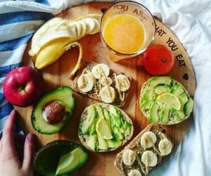 healthy, vegan, and food image