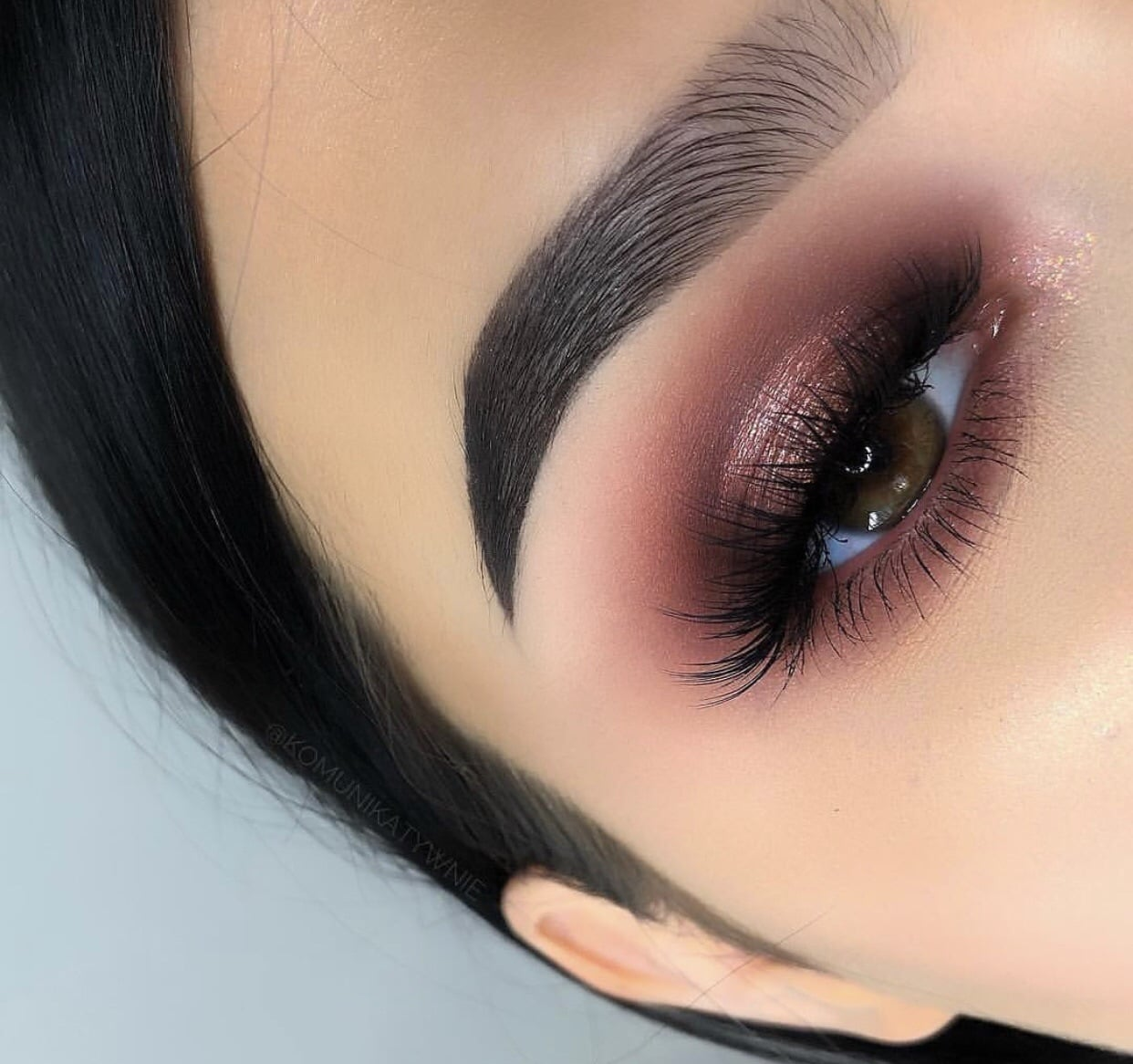eyes, glitter, and highlight image